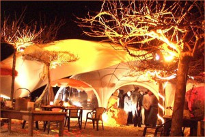 Le Cabanon Cap d'Ail Restaurant by Night