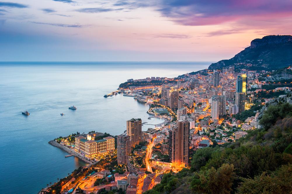 Mediterranean seaview Monaco