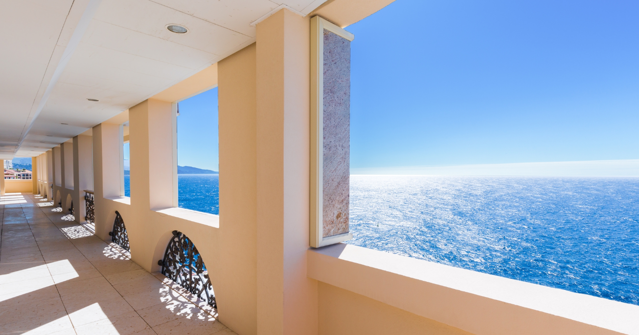 sea view apartment monaco