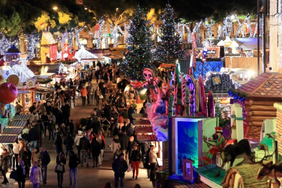 Christmas market in Monaco