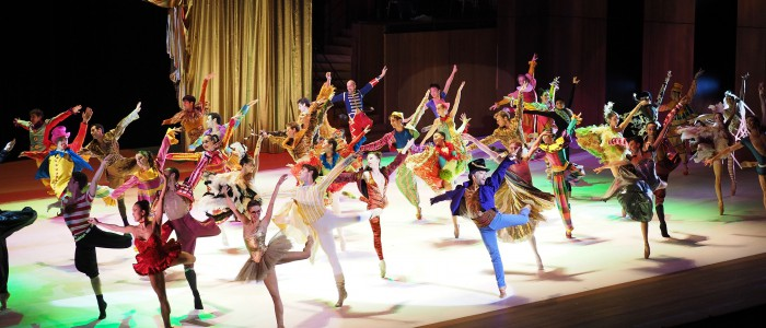 Monte Carlo ballet