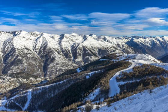 Snow Report for the Ski Resorts Near Monaco - Auron Snow Report