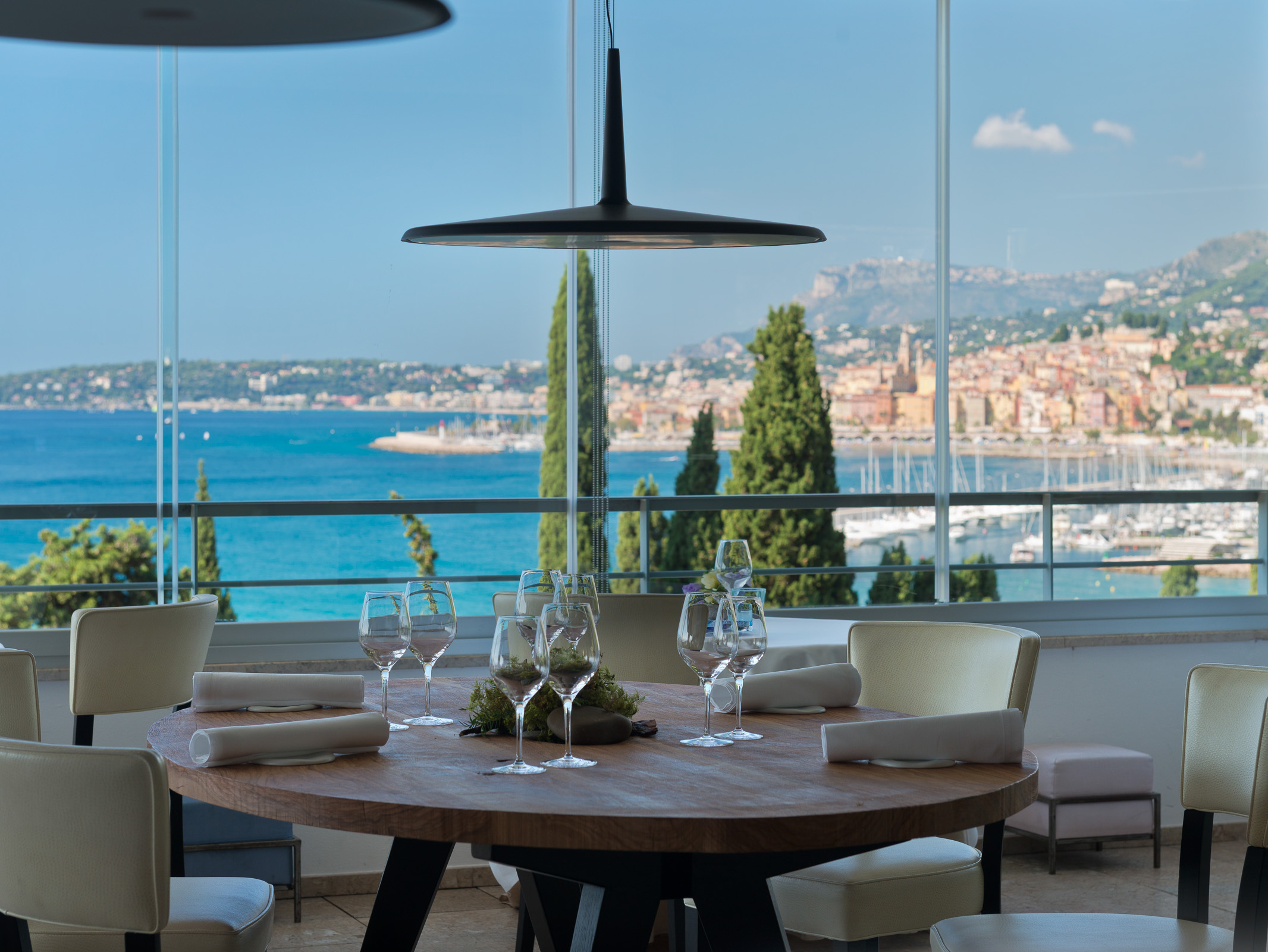 Restaurant Mirazur in Menton south of France