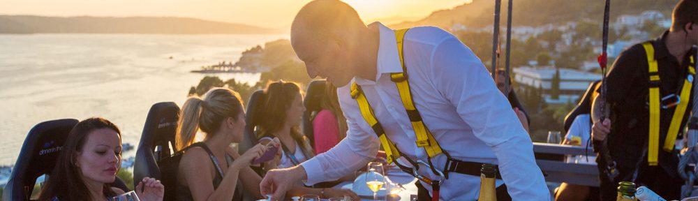 Dinner in the Sky Monte Carlo
