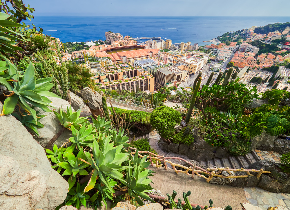 LCPM Property for Rent in Monaco Jardin Exotique