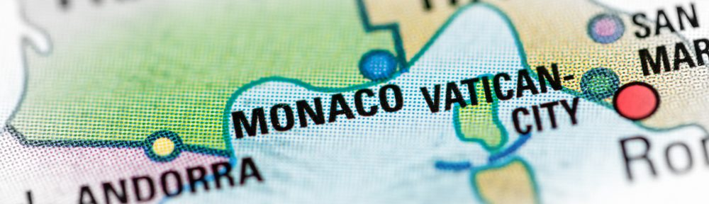 LCPM Rent an apartment in Monaco map of Monaco