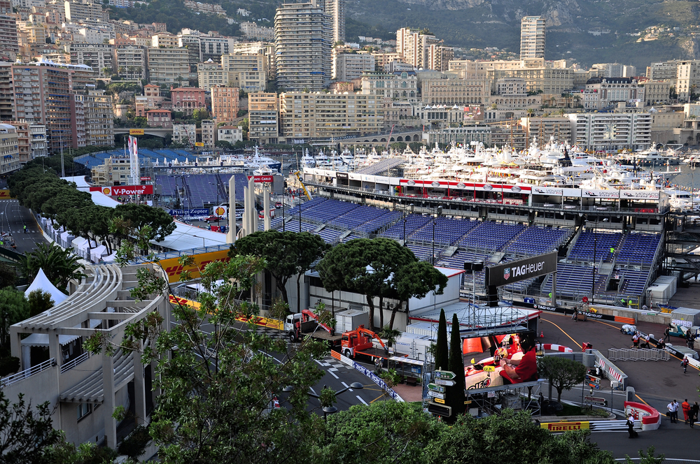 LCPM Real Estate Monaco Grand Prix Starting Grid