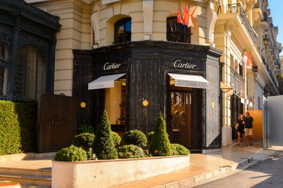 Luxury Shop Monaco - Cartier